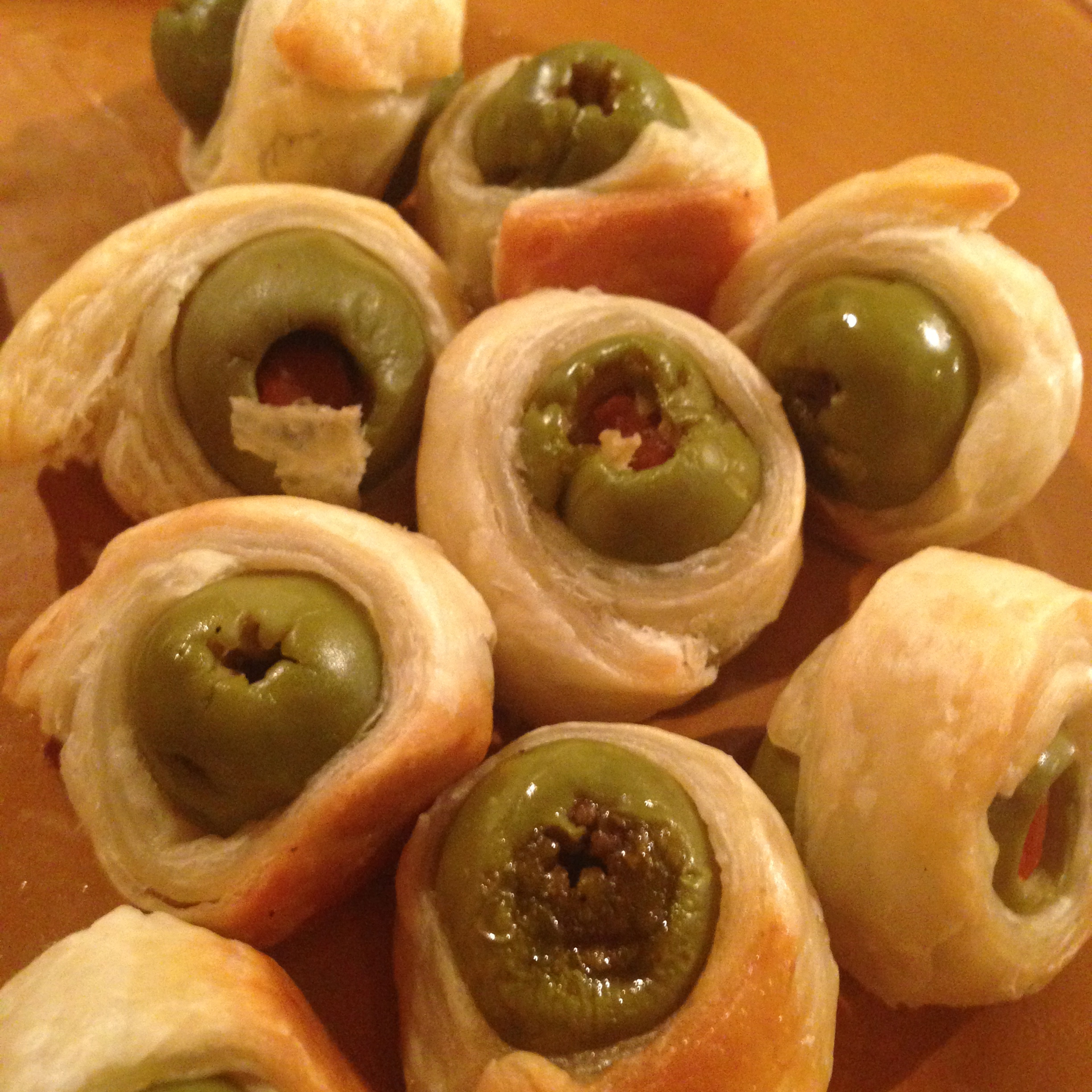 Olives In Puff Pastry