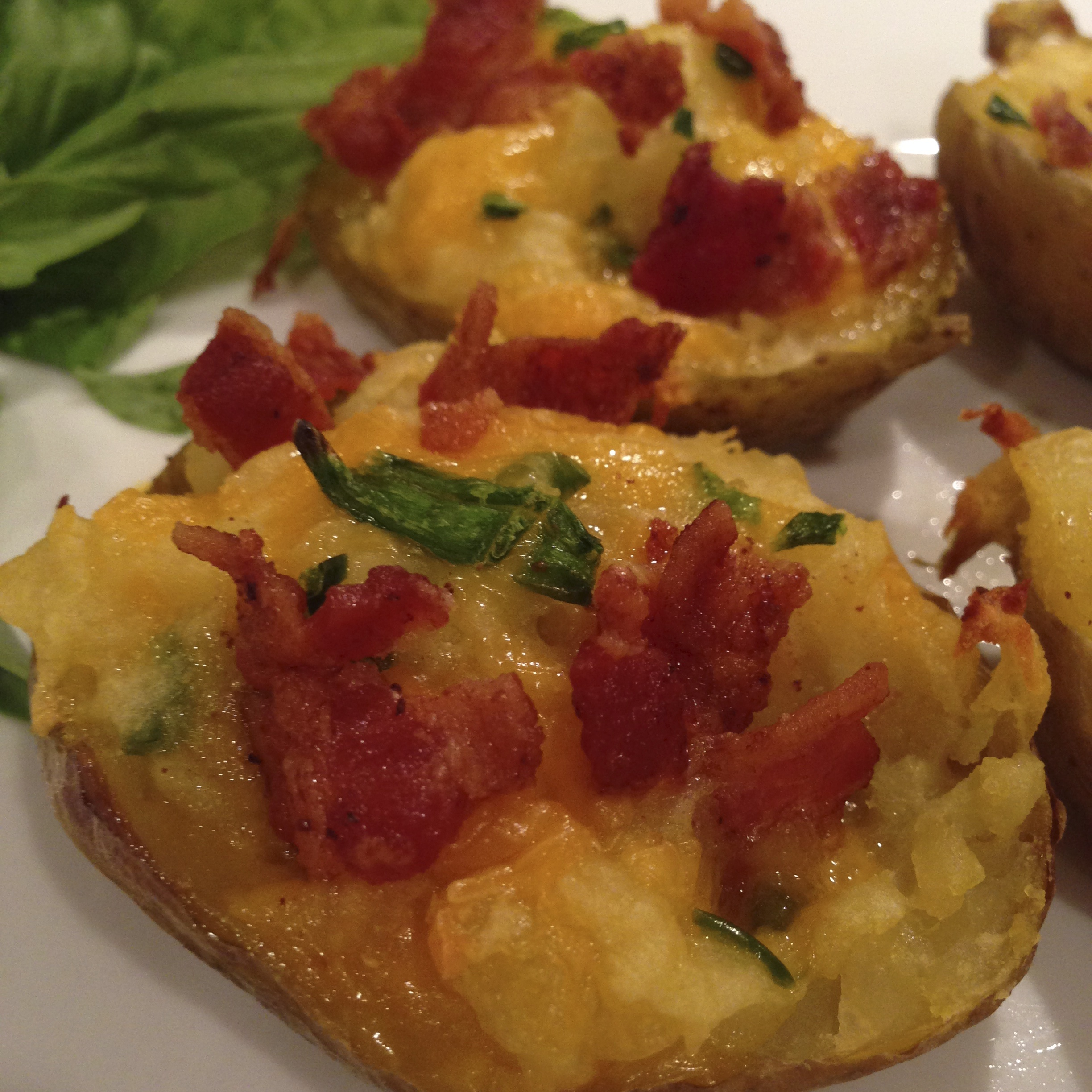 Twice Baked Bacon Potatoes