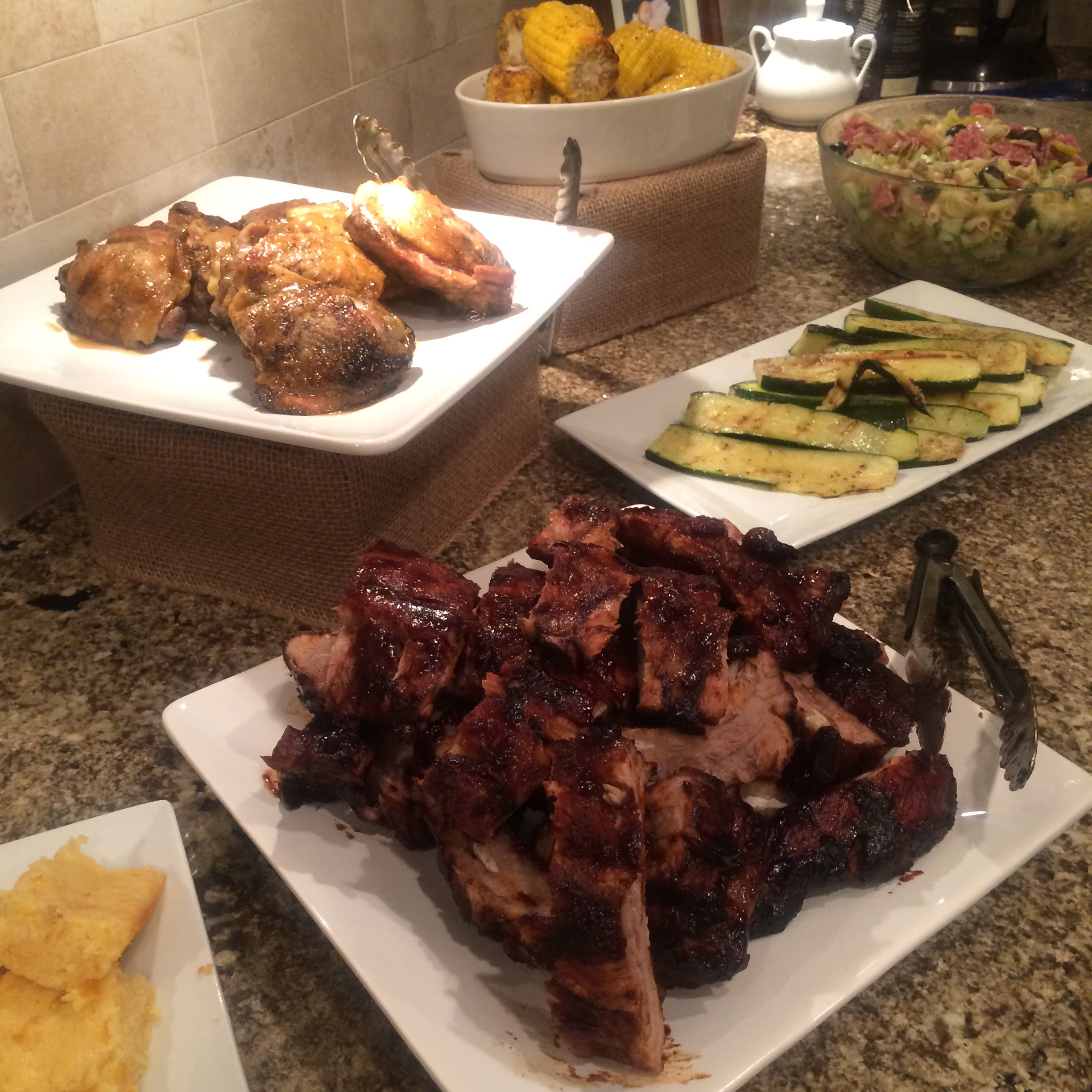 BBQ Time….. Chicken and Ribs