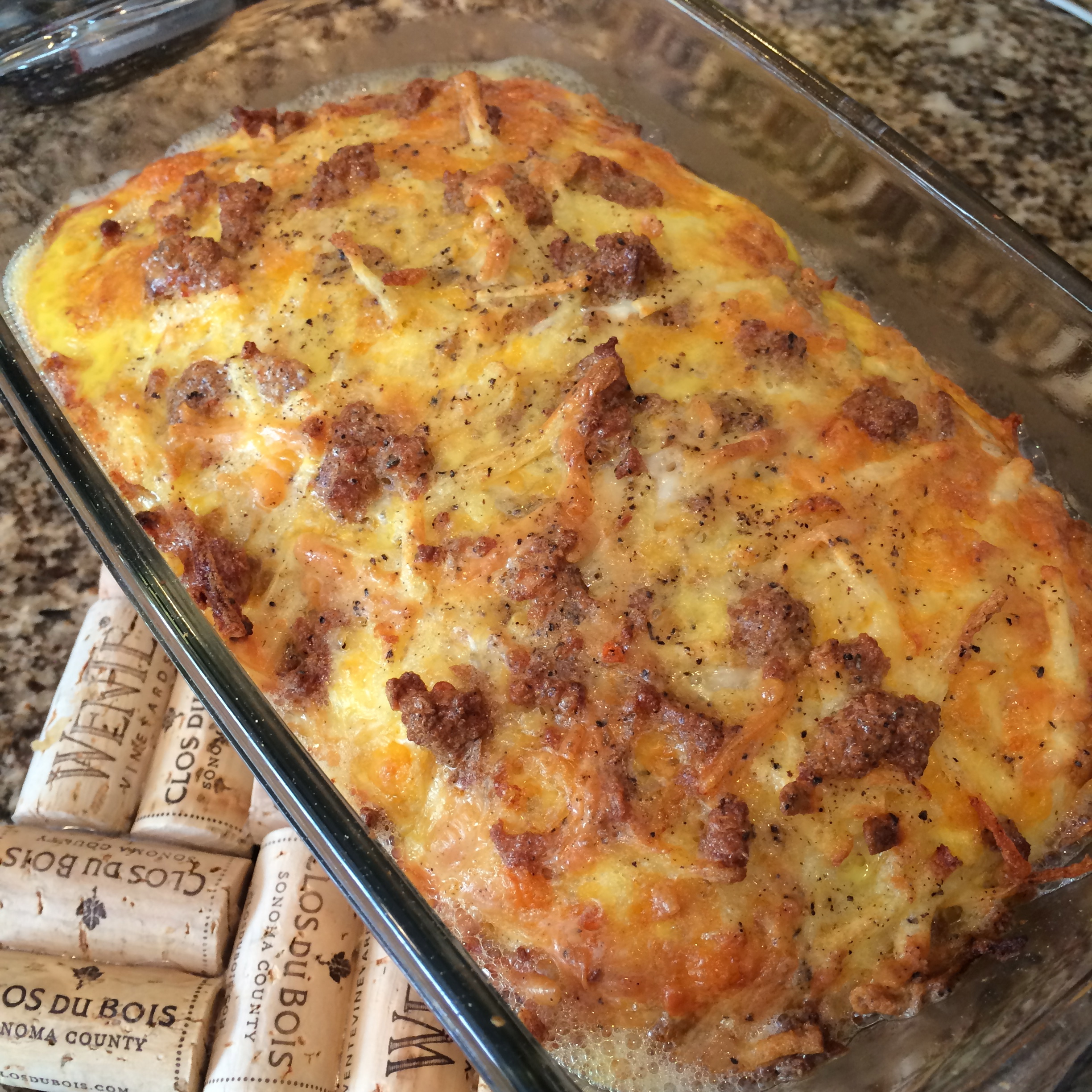 Breakfast Hash Brown Casserole