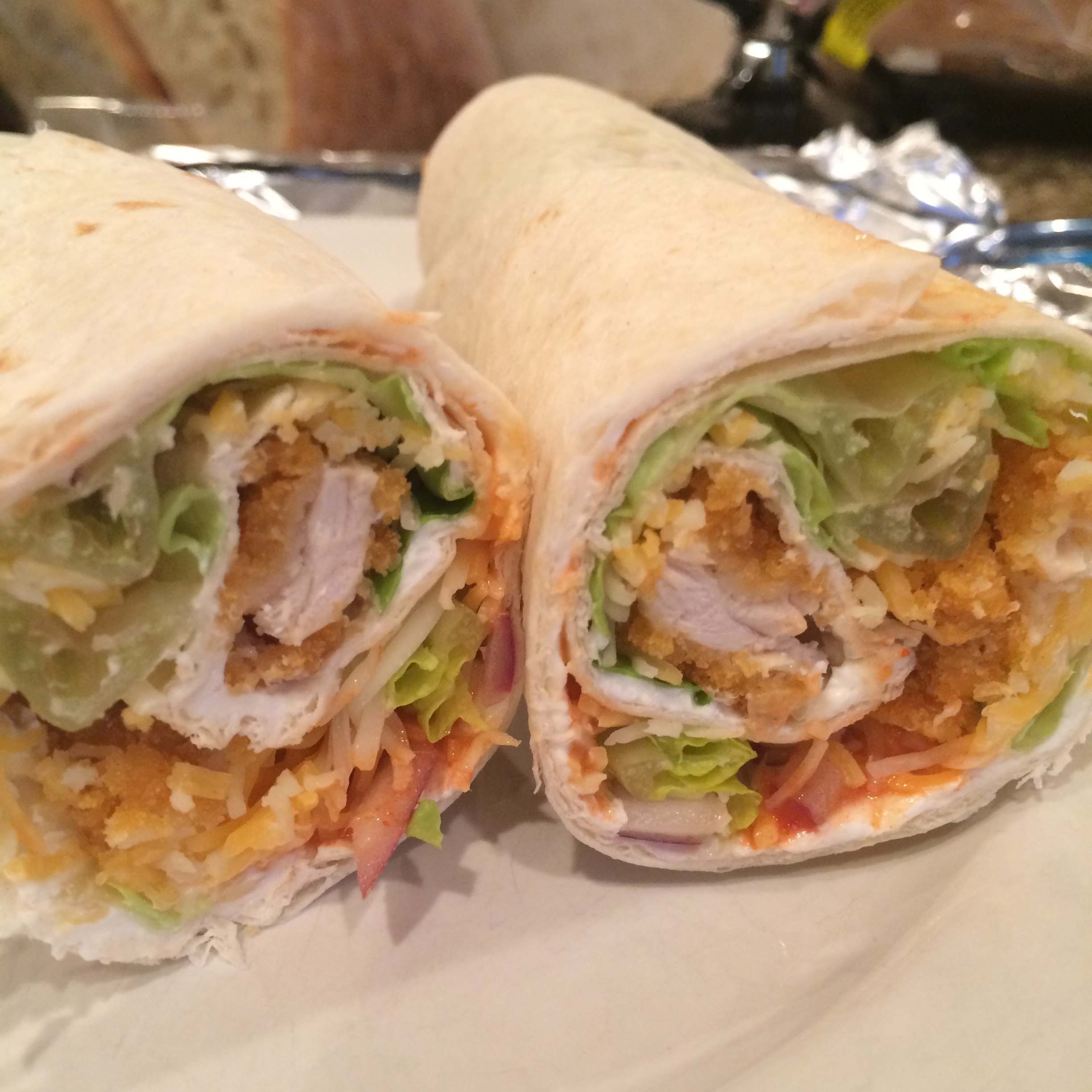 Crunchy Chicken Wrap