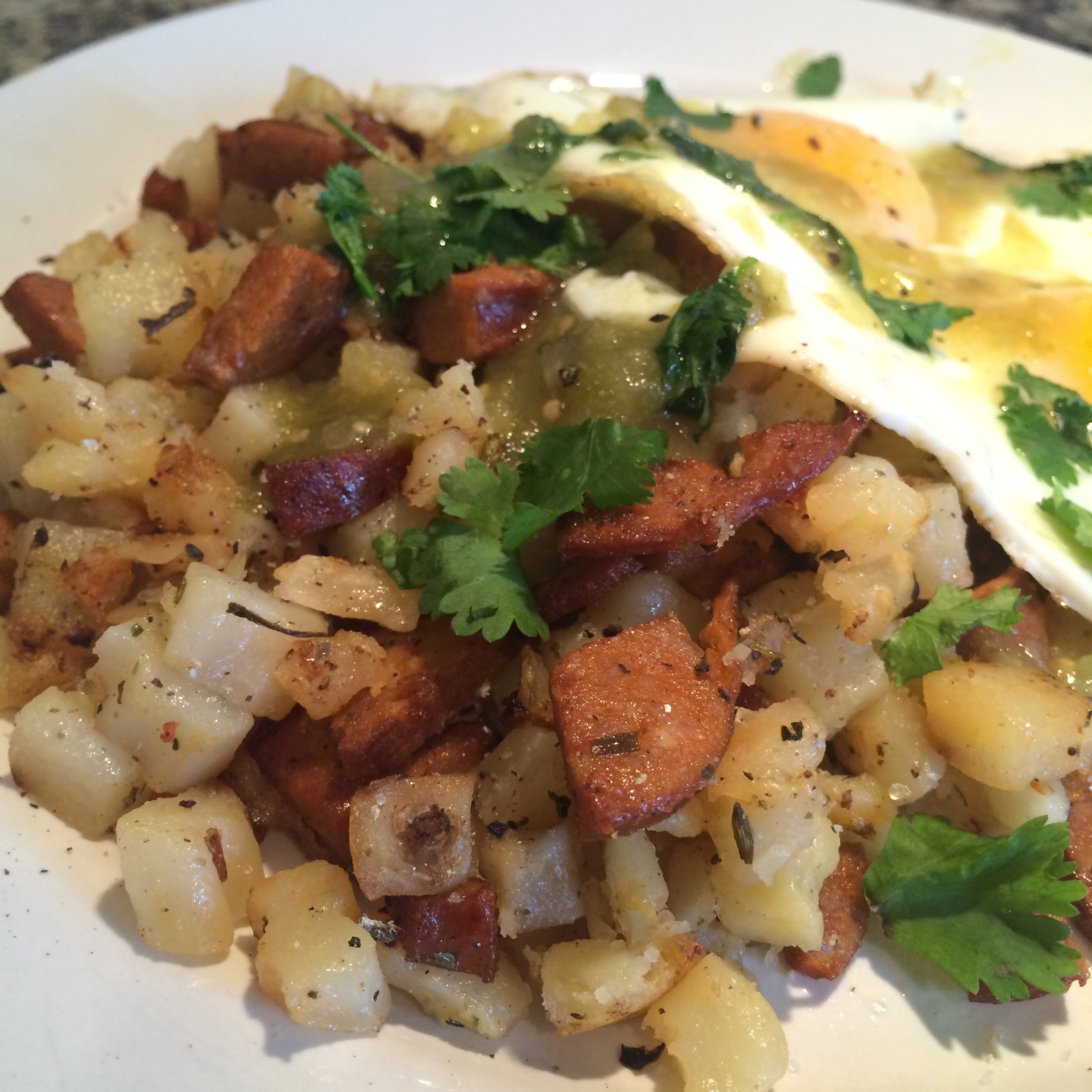 Andouille Sausage and Potatoes
