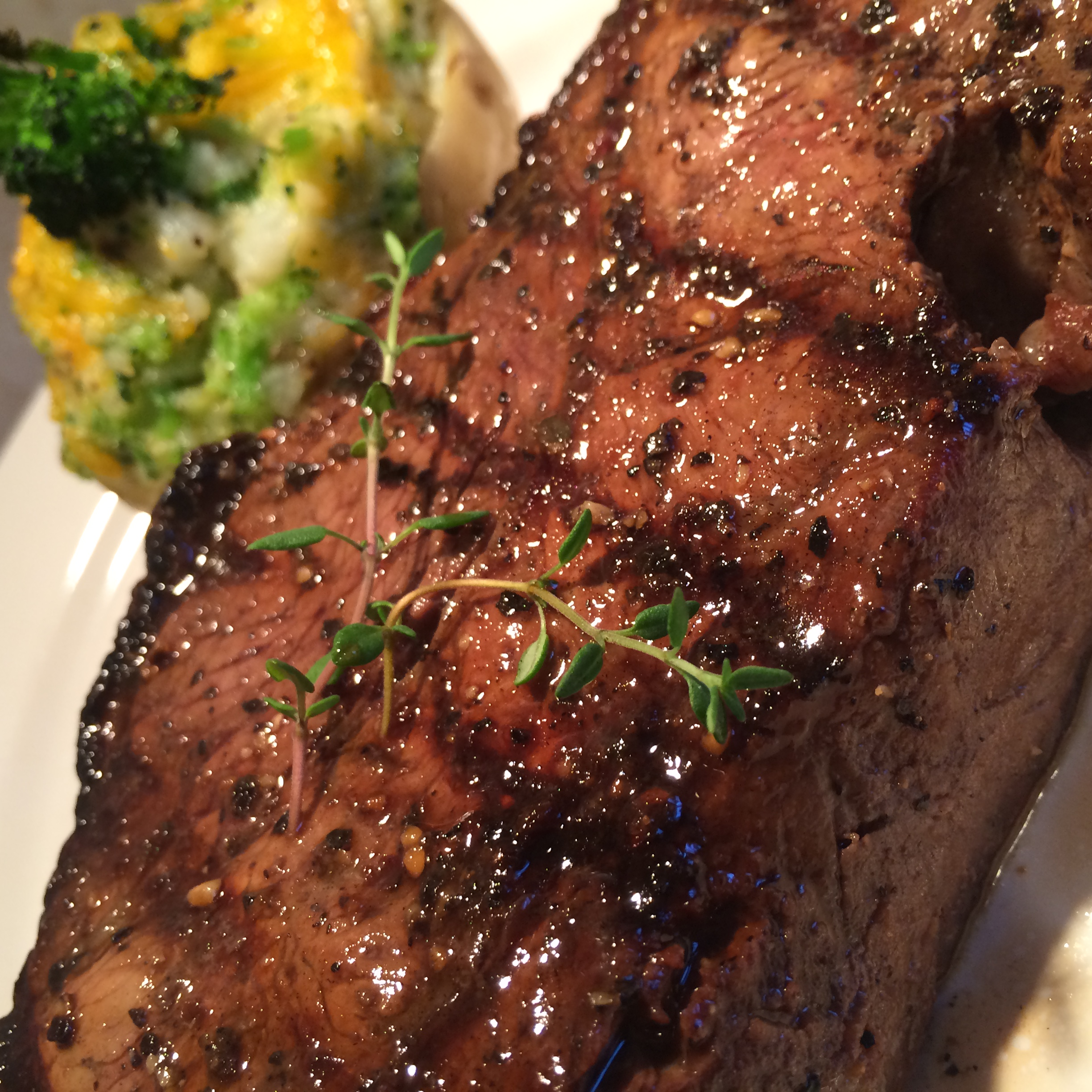 Thyme and Butter Steak