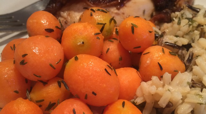 Parisian Carrots with Thyme