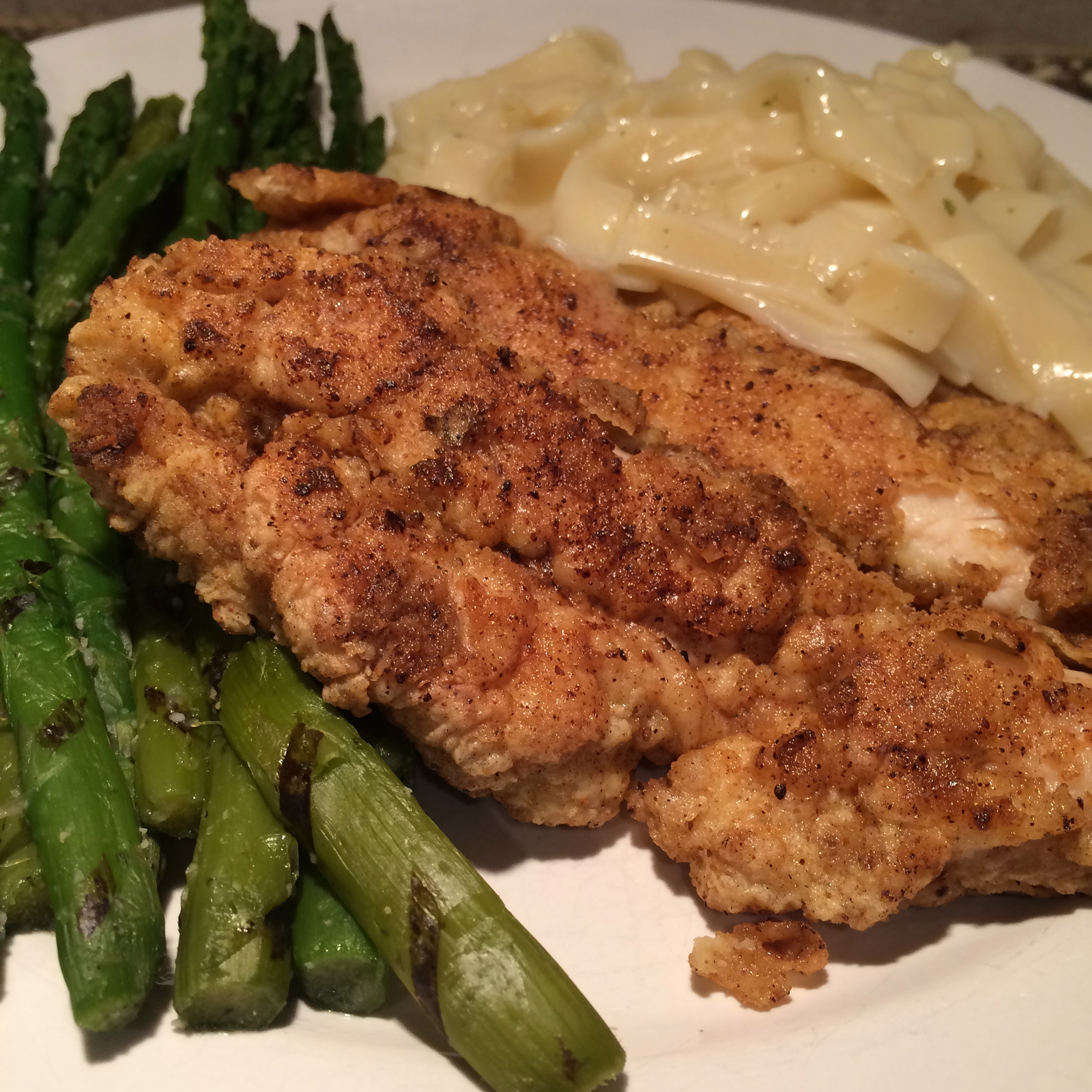 Simple Breaded Chicken