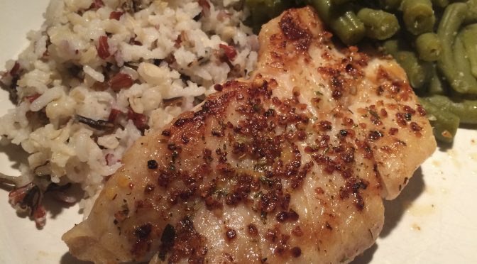 Garlic and Herb Grilled Salmon